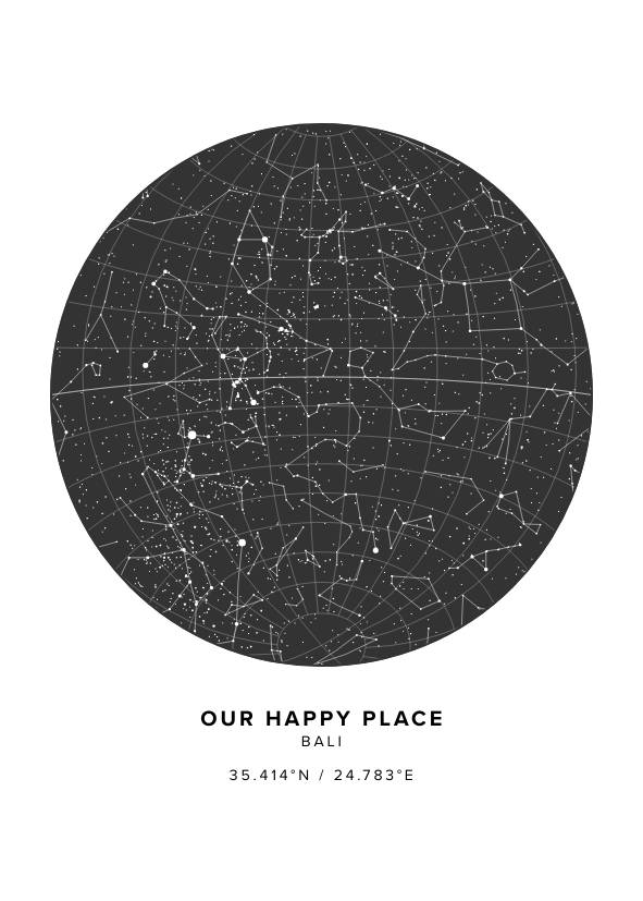 Our Happy Place Star Map