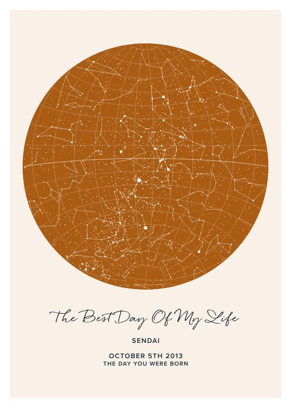 The Best Day Of My Life Star Map