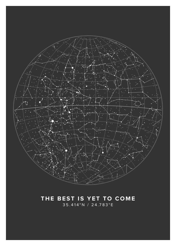 The Best Is Yet To Come Star Map