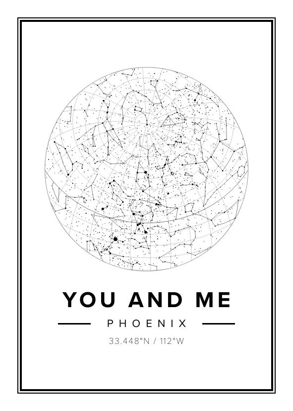 You and Me Star Map